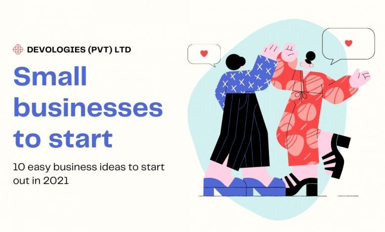 businesses to start